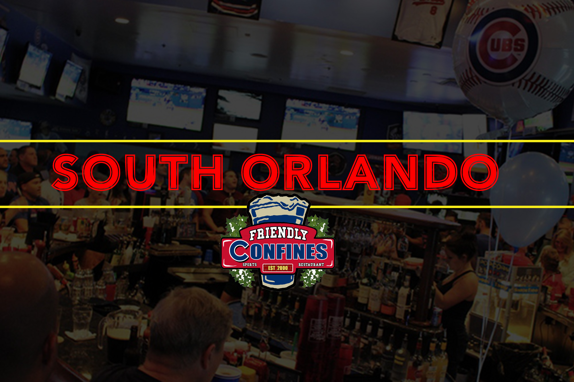 Friendly Confines Sports Restaurant and Bar South Orlando