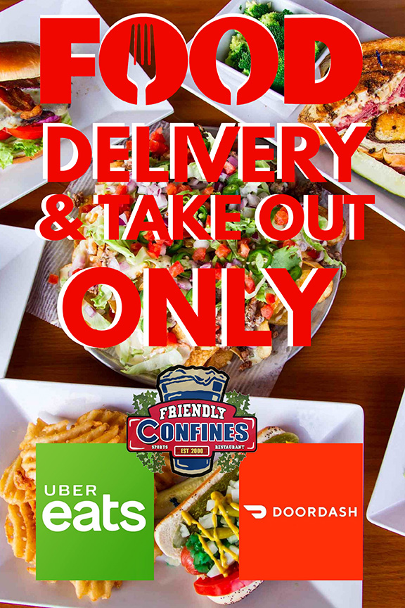 Delivery and Take out Only